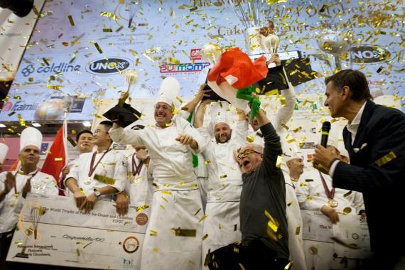 world pastry winner italian team